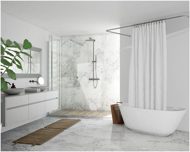 Wnęka prysznicowa z kamienia naturalnego – postaw na elegancję!