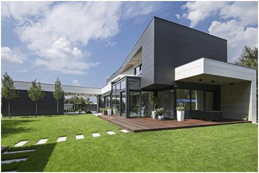 Spiek kwarcowy – materiał idealny na elewację budynku