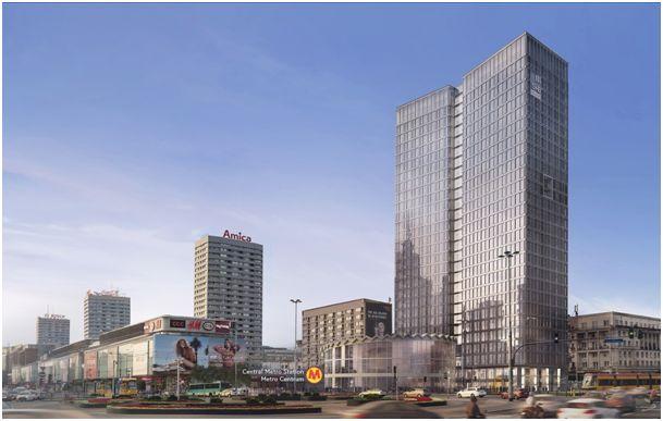 Biurowiec Widok Towers – nasza realizacje w sercu Warszawy